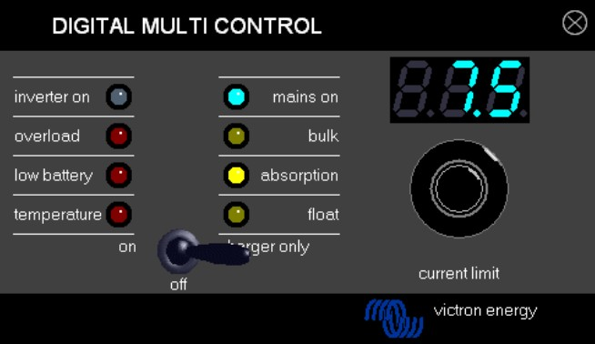 Victron Digital Multicontrol